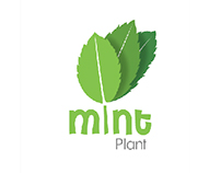 Mint plant logodesign