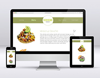 Ceviche House Webpage Layout