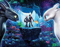 How to Train Your Dragon 3 - UI/UX Concept