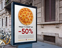 Graphic Design # Posters for YAMMPIZZA