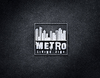 METRO LIVING ZINE - LOGO & WEB DESIGN