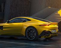 British sport: Aston Martin Vantage