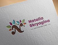 Логотип для онлайн школы английского языка