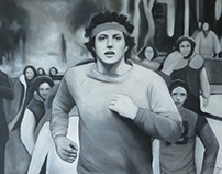 Rocky's Running Scene