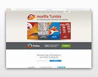 Mozilla Tunisia — Website Redesign