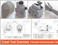 3D Modelling for Crash Test Dummies for Automotive Indu