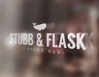 STUBB & FLASK COFFEE LOGOS