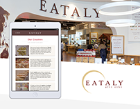 Branded Digital Products for Eataly
