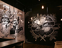 ME TIME CAFE MURALS