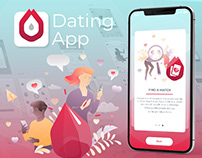 GARNETZ Dating App UI/UX (new generation application)