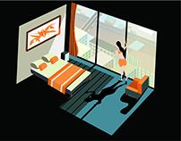 Illustration for Bed Room Design