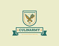 CulinArmy Logo Template