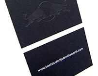 Red Bull Business Card