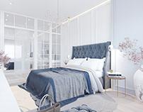 White interior / Bedroom
