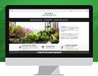 Landing Page - Los Bosques Apartamentos