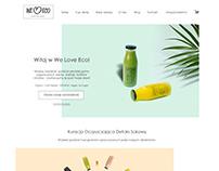 Ecommerce design for Weloveeco