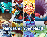 Characters for Heroes of Your Healt