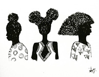 Illustrations for Brown Girls
