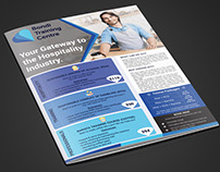 Gateway to the Hospitality Industry Flyer design