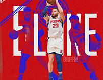 NBA - BLAKE GRIFFIN -DETROIT PISTONS