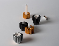 Radial Candle Holders