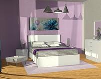 Guest Room / 3D