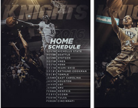 UCF Knights Basketball Home Schedules