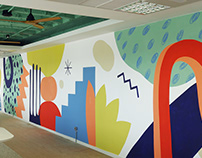Mural / Temprano Capital Offices