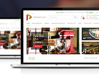 Palmkart Responsive eCommerce web design