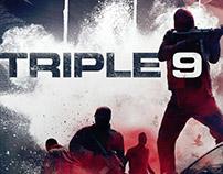 Triple 9 Poster Design