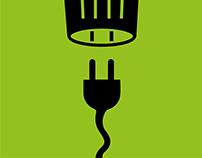 Re conecta la basura electrónica.