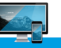 the peak lab. Corporate Identity