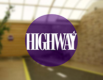 Highway Lounge Branding
