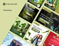 Yves Rocher advertising