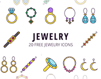 Jewelry Vector Free Icon Set