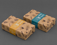 Sincere Co. Egg Rolls Packaging Design / 新四海蛋捲包裝設計