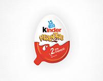 "Kinder Merendero ""Con 2 sorprese""/ Interactive Print"