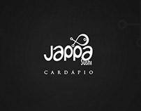 Cardápio // Jappa Sushi