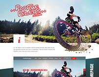 Fortheriders Website Design