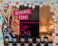 Rita Ora 60 Seconds Superdrug Takeover