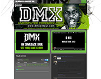 DMX TOUR WEBSITE