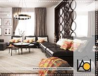 Modern Apartment Design Based in Saudi-Arabia