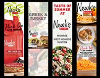 Newke's banners