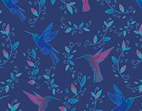 Pattern - Beija Flor