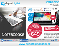 Depot Digital - Diseño de newsletter + gráfica digital