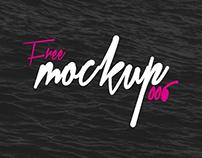 Free Mockup #006