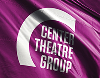 Center Theatre Group Branding & Identity System