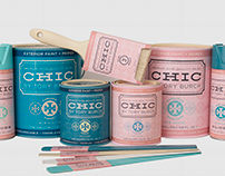 CHIC by Tory Burch -- Home Paint Line Collection