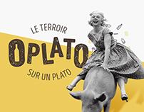 O'Plato - Identité visuelle