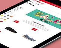 Pittarello Shoes new e-commerce UX/UI